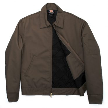 Dickies TJ15 Lined Eisenhower Dark Brown Jacket