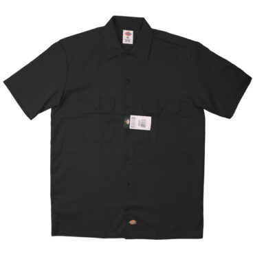 Dickies 1574 Short Sleeve Black Work Shirt