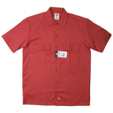 Dickies 1574 Short Sleeve English Red Work Shirt