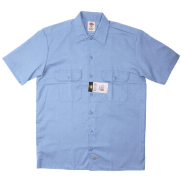 Dickies 1574 Short Sleeve Gulf Blue Work Shirt