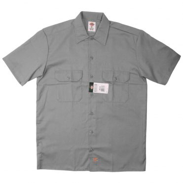 Dickies 1574 Short Sleeve Silver Gray Work Shirt