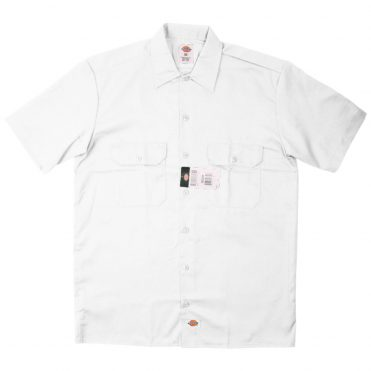 Dickies 1574 Short Sleeve White Work Shirt