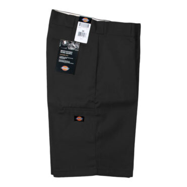 "Dickies 42283 13"" Loose Fit Multi-Use Pocket Black Work Short"