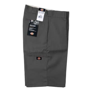 "Dickies 42283 13"" Loose Fit Multi-Use Pocket Charcoal Work Short"