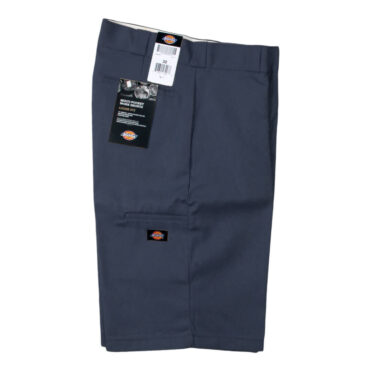 "Dickies 42283 13"" Loose Fit Multi-Use Pocket Dark Navy Work Short"