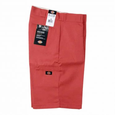 "Dickies 42283 13"" Loose Fit Multi-Use Pocket English Red Work Short"