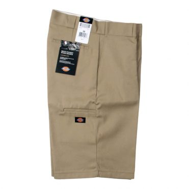 "Dickies 42283 13"" Loose Fit Multi-Use Pocket Khaki Work Short"