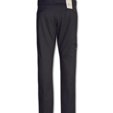 Dickies WP811 Skinny Straight Double Knee Black Pant