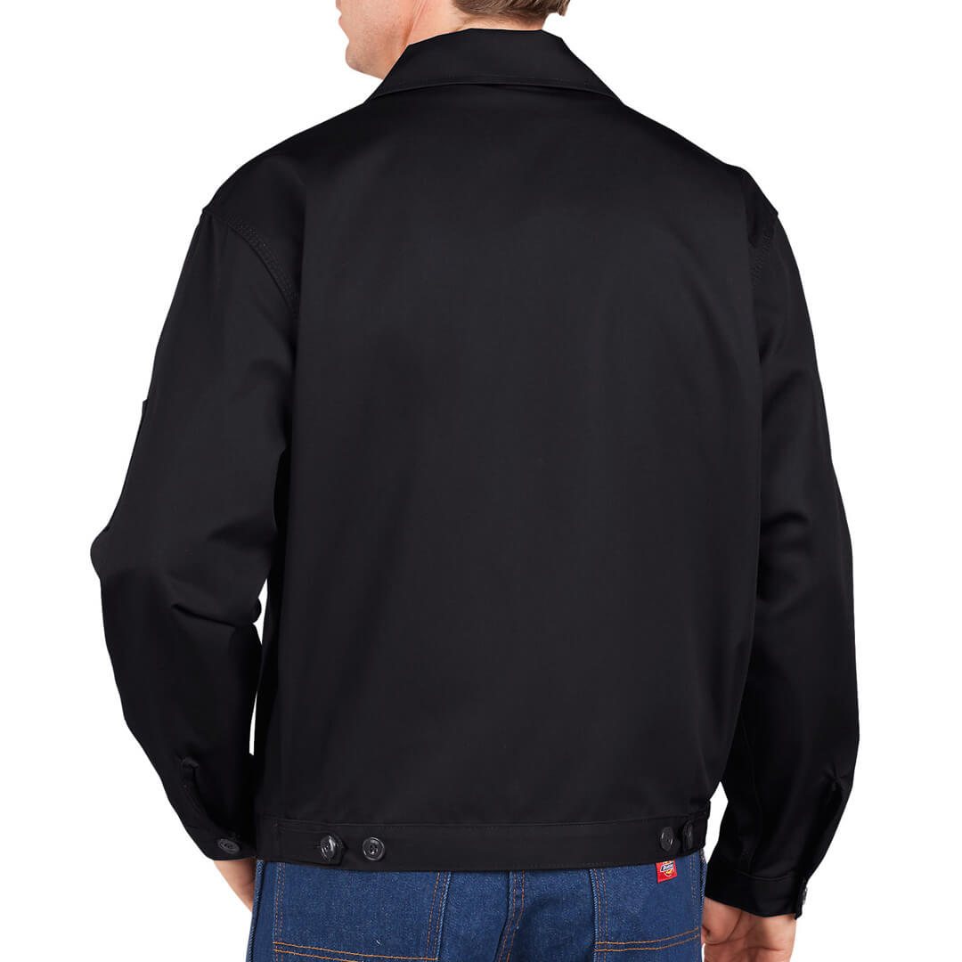 Dickies JT75 Unlined Eisenhower Black Jacket - Billion Creation ...