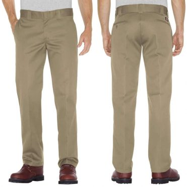 Dickies WP873 Slim Straight Khaki Work Pant