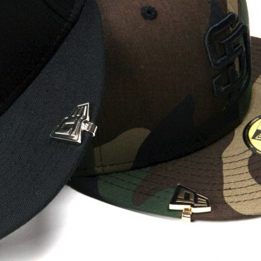 New Era Black Gold Cap Bite