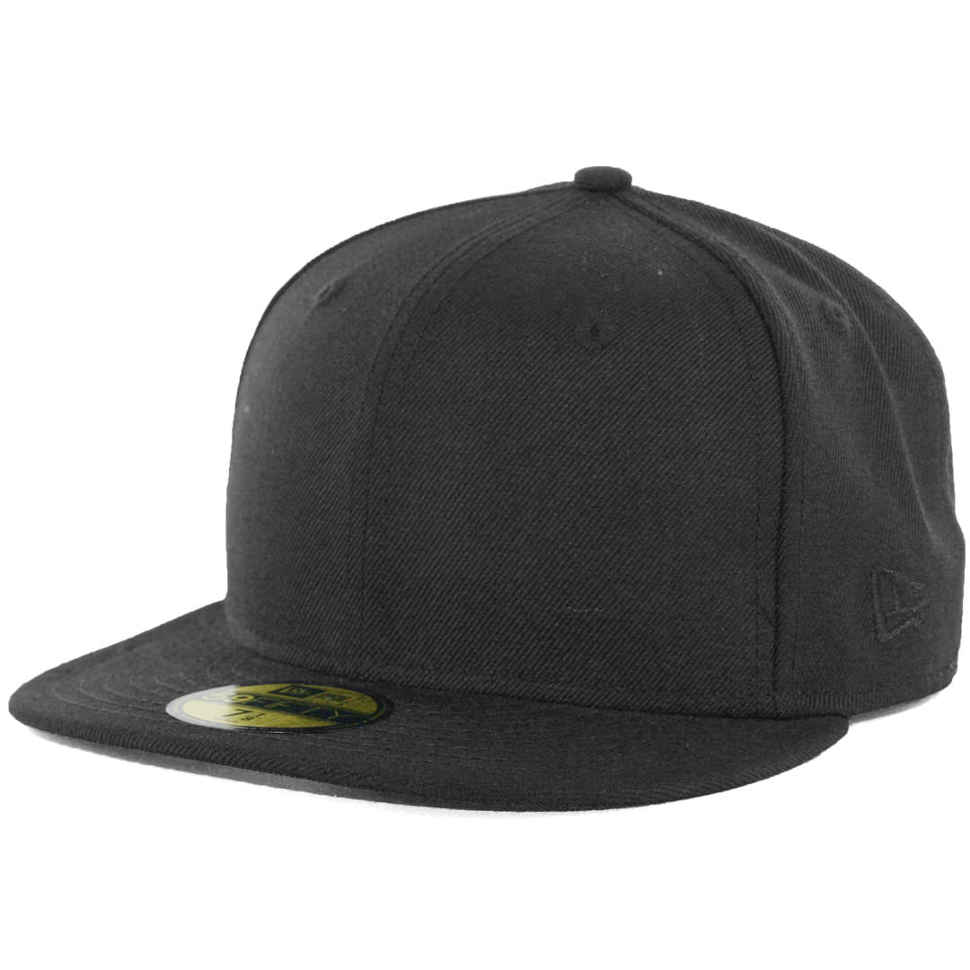 0655b4ae5ce55 ... sweden new era blanks 59fifty plain blank fitted hat black tonal 7a489  77fc5