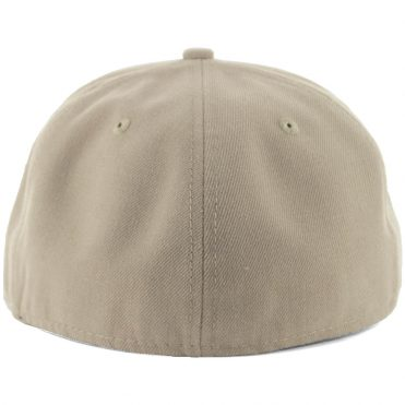 New Era Blanks 59FIFTY Plain Blank Fitted Hat British Khaki Tonal