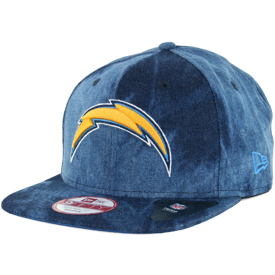 New Era 9fifty Denim Dip San Diego Chargers Snapback Hat