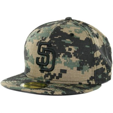 New Era 59Fifty San Diego Padres Digi Rip Camo Fitted Hat