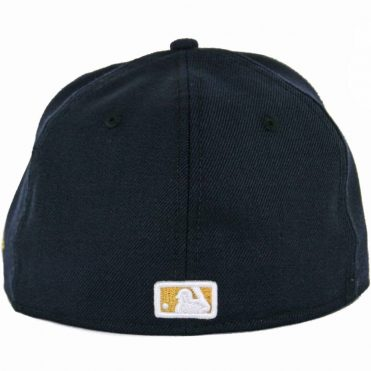 New Era 59Fifty San Diego Padres Fitted Hat, Dark Navy, Gold