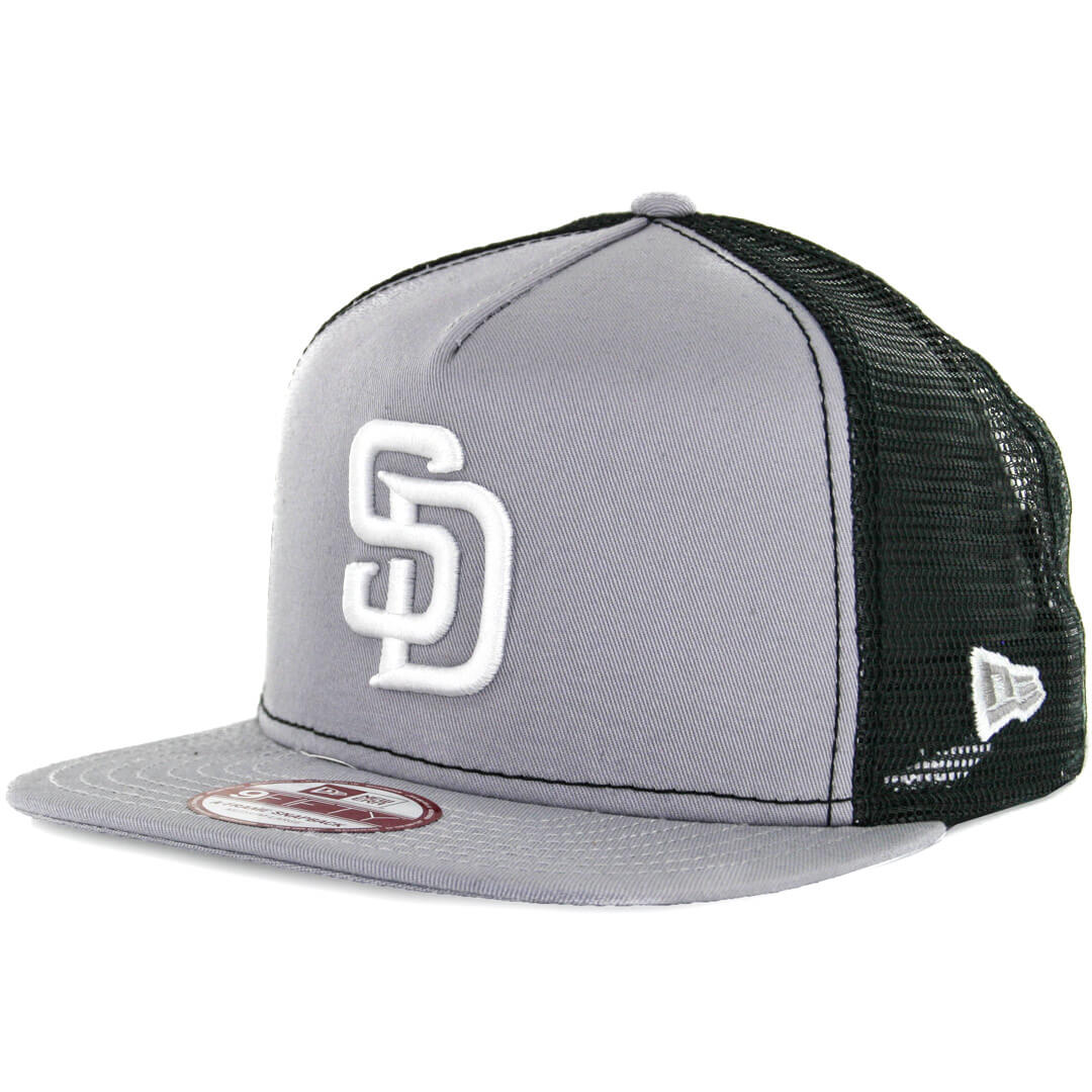 New Era 9Fifty San Diego Padres Trucker Snapback Hat 07d471188d3