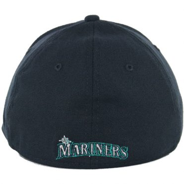 New Era 39Thirty Seattle Mariners Team Classic Stretch Fit Hat, Navy