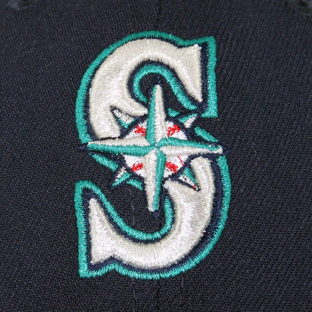 New Era 39thirty Seattle Mariners Team Classic Stretch Fit Hat Navy