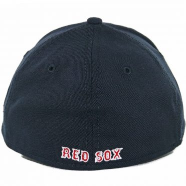 New Era 39Thirty Boston Red Sox Team Classic Stretch Fit Hat, Navy