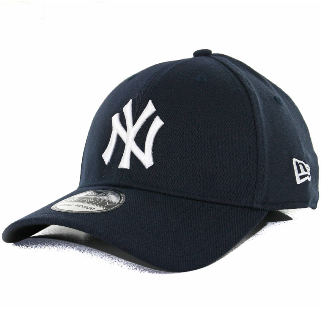New Era 39Thirty New York Yankees Team Classic Stretch Fit Hat 1cd59ef7f18