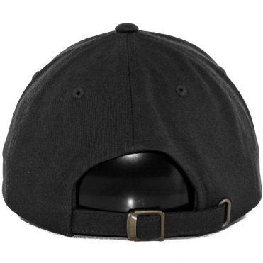 The High Rise Down-N-Out Polo Cap Strapback, Black