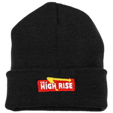 The High Rise Down-N-Out Beanie, Black
