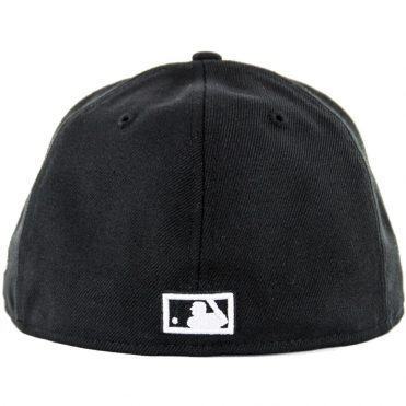 New Era 59Fifty San Diego Padres BK WH CO Friar Fitted Hat