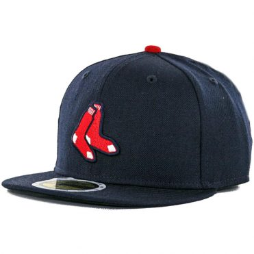 New Era 59Fifty Boston Red Sox Alternate Youth Authentic On Field Fitted Hat