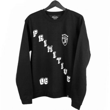 Primitive Great One Crewneck Sweatshirt, Black