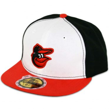 New Era 59Fifty Baltimore Orioles Home Youth Authentic On Field Fitted Hat