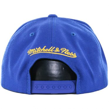 Mitchell & Ness Golden State Warriors Wool Solid 2 Snapback Hat, Royal Blue