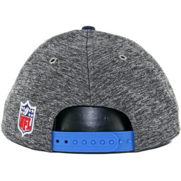 New Era 9Fifty San Diego Chargers Authentic On Field Draft 2016 Snapback Hat, Heather Graphite/Navy