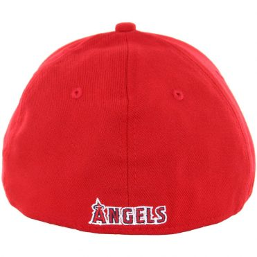 New Era 39Thirty Los Angeles Angels Team Classic Stretch Fit Hat, Red