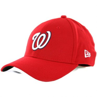 New Era 39Thirty Washington Nationals Team Classic Stretch Fit Hat, Red
