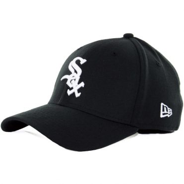New Era 39Thirty Chicago White Sox Team Classic Stretch Fit Hat, Black