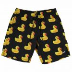 Neff Rubber Ducky Hot Tub Short, Black