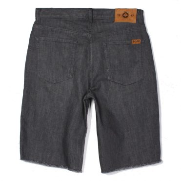 LRG Monochrome TS Walk Shorts, Grey Crinkle