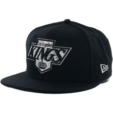 New Era 59Fifty Los Angeles Kings Fitted Hat, Black