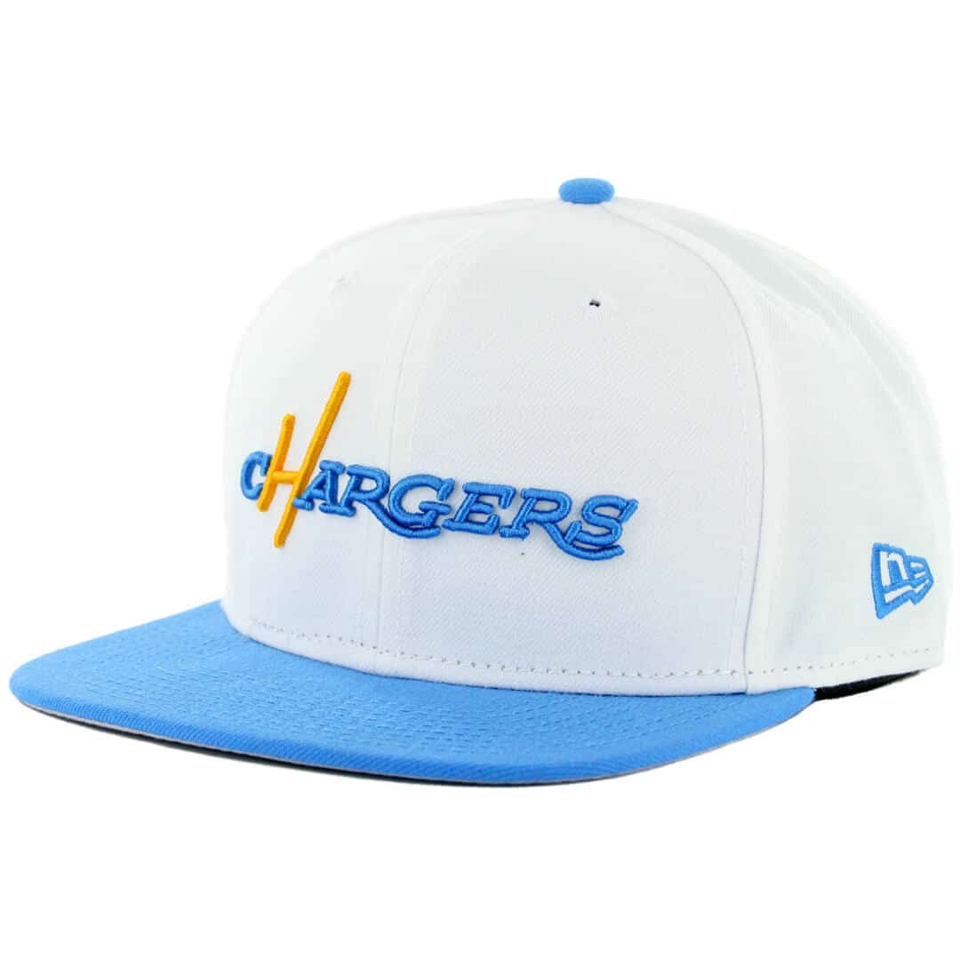 New Era 9fifty San Diego Chargers Historic Baycik Snapback