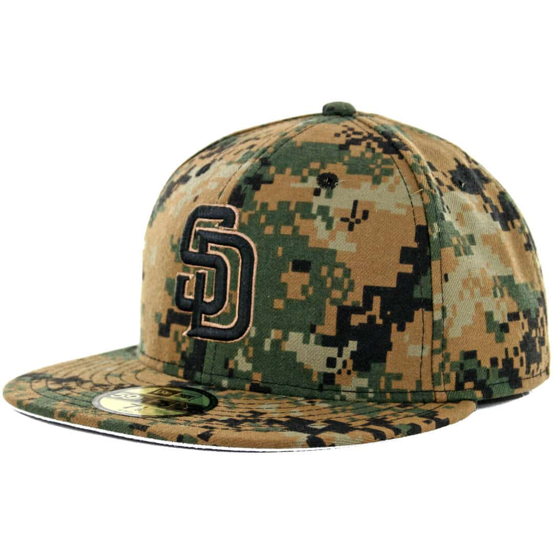 new era 59fifty official san diego padres memorial day hat. Black Bedroom Furniture Sets. Home Design Ideas