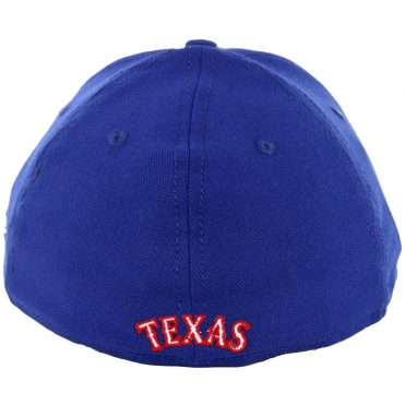 New Era 39Thirty Texas Rangers Team Classic Stretch Fit Hat, Royal Blue