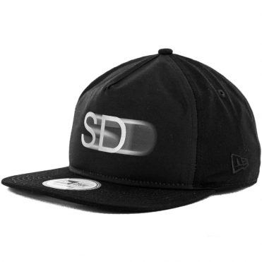 New Era x Billion Creation 9Fifty San Diego 3M Blur Golfer Snapback Hat, Black