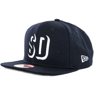 New Era x Billion Creation 9Fifty San Diego Shadow 1904 Snapback Hat, Navy