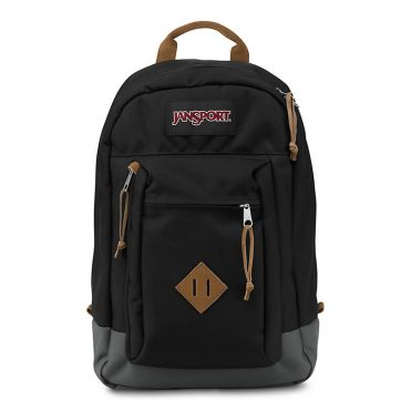 JanSport Reilly Black Backpack