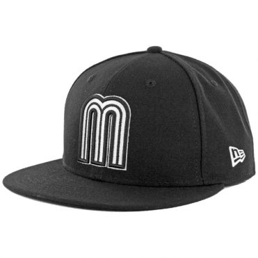 New Era 59Fifty World Baseball Classic Mexico 2017 Black White Fitted Hat