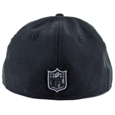 New Era 59Fifty San Diego Chargers Black Graphite Fitted Hat