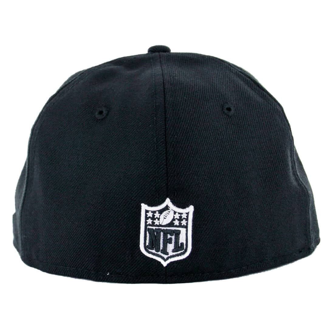 San Diego Chargers Fitted Hats: New Era 59Fifty San Diego Chargers Black White Fitted Hat