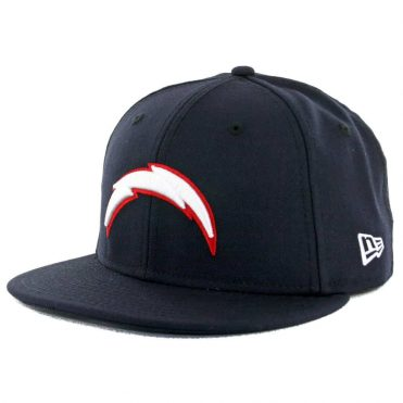 18419c7a New Era 59Fifty San Diego Chargers Dark Navy White Red Fitted Hat ...