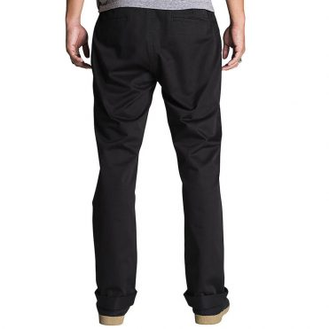 KR3W Klassic XL Rigid Chino Pant Black